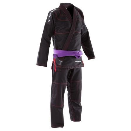 OUTSHOCK - A0 155-165cm  500 Brazilian Jiu-Jitsu Adult Uniform, Black