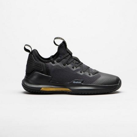 TARMAK - EU 40  Men's Low-Rise Basketball Shoes Fast 500, Black