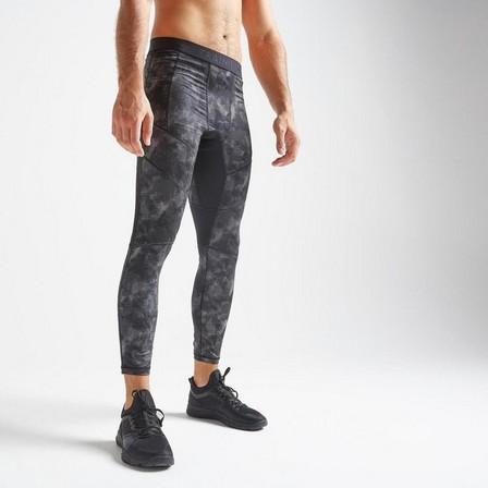 DOMYOS - W32 L33  Training Fitness Leggings 500 - Black, Black