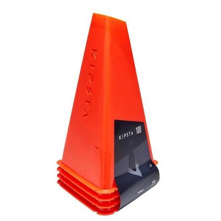 KIPSTA - Unique Size  30cm Training Cones 4-Pack Essential - Orange, Default