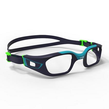 NABAIJI - Unique Size  FRAME FOR CORRECTIVE SWIMMING GOGGLES SELFIT SIZE S - GREEN / BLUE, Navy Blue