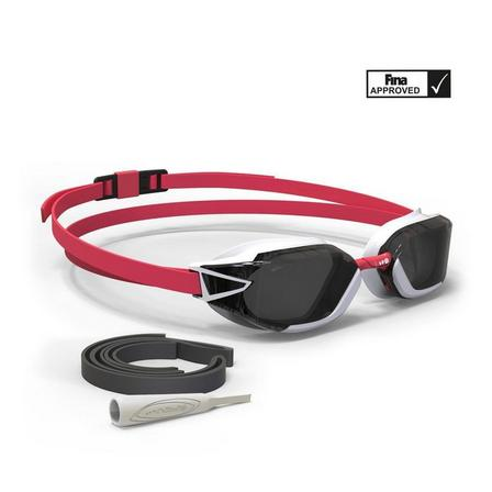 NABAIJI - Unique Size  B-FAST Swimming Goggles 900 - Black Green Clear Lenses, Fluo Lime Yellow