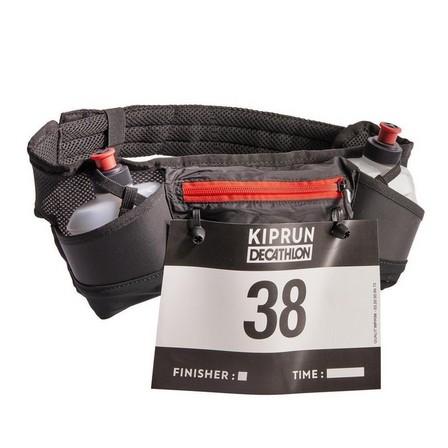 KIPRUN - Unique Size  RUNNING 250 ML BOTTLE BELT + NUMBER HOLDER, Default