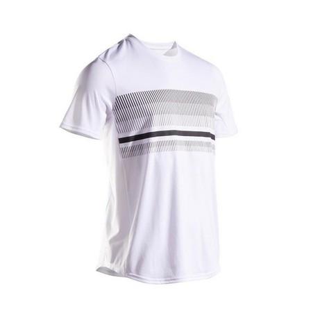ARTENGO - Large  Men's Tennis T-Shirt TTS100, Snow White