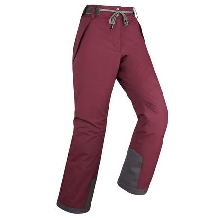 DREAMSCAPE - Small/Medium  Women's skiing and snowboarding trousers 100, Deep Chocolate Truffle