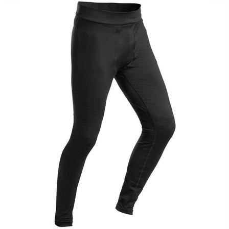 WEDZE - Medium  Men's Ski Base Layer Bottoms 500 - Black, Black