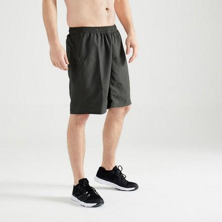DOMYOS - 3XL  FST 120 Fitness Cardio Training Shorts, Dark Green