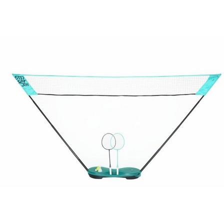 PERFLY - Unique Size  3 m Badminton Net Easy Set, Mint Green