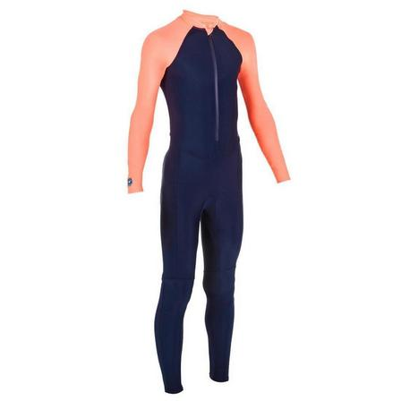 NABAIJI - 5-6Y  Wetsuit for Swimming combi swim coral, Navy Blue