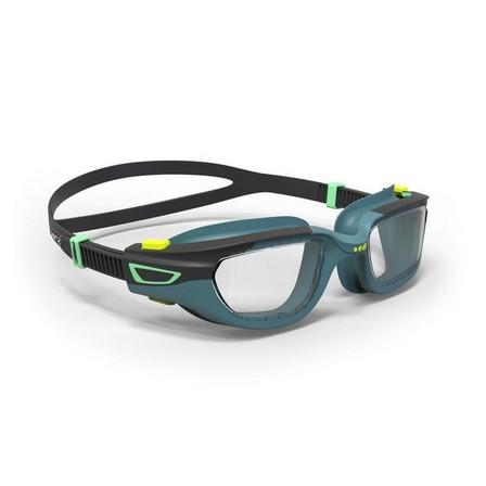 NABAIJI - Small  500 SPIRIT Swimming Goggles, Size S  , Smoke Lenses, Petrol Blue