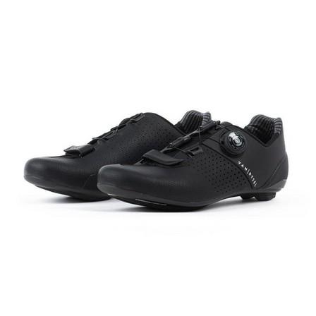 VAN RYSEL - EU 47  RoadR 520 Carbon Road Cycling Shoes, Black