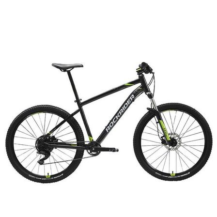 ROCKRIDER - M - 165-174cm  27.5 Mountain Bike ST 530, Black