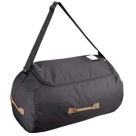 FORCLAZ - Unique Size  Airplane transport cover - TRAVEL - rucksacks from 40 to 90 litres, Carbon Grey