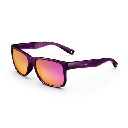 QUECHUA - Adult Category 3 Hiking Sunglasses Mh140 - Damson