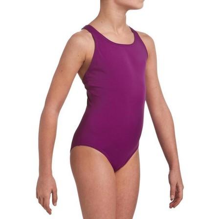NABAIJI - 7-8Y  Leony Girls' One-Piece Swimsuit, Purple