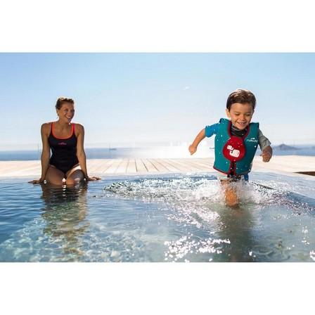 NABAIJI - 18-30 KG  Foam swim vest blue-red, Default