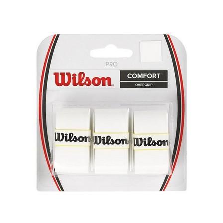 WILSON - Unique Size  Pro Tennis Overgrip - White, Default
