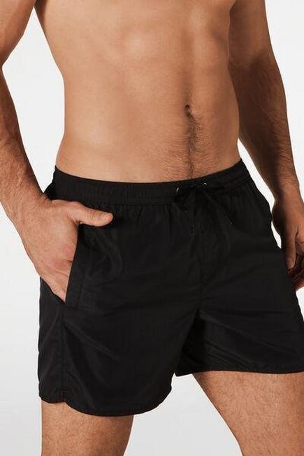 Calzedonia - Black Formentera Swim Trunks, Men