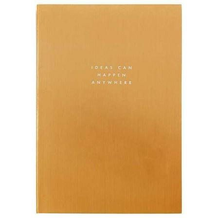 KIKKI.K - Kikki.K A5 Feature Journal Luxury Gold
