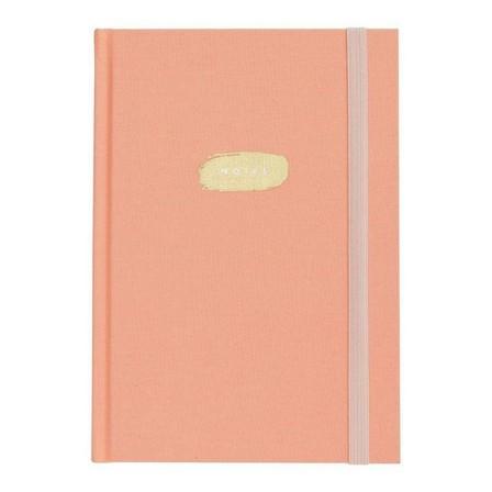 KIKKI.K - kikki.K A5 Fabric Journal Luxury Coral