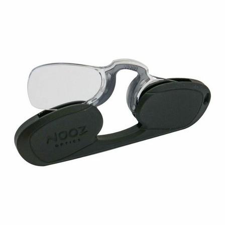 NOOZ OPTICS - Nooz Retrochic Rectangular Reading Glasses Black +1 Perscription