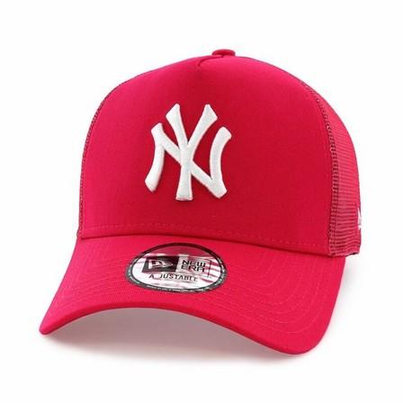 NEW ERA - New Era Tonal Mesh Trucker New York Yankees Men's Cap Pink