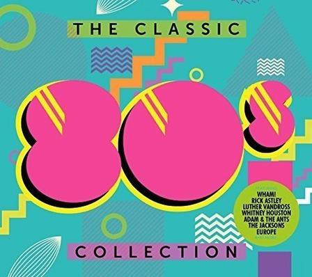 SONY MUSIC ENTERTAINMENT - The Classic 80's Collection (3 Discs) | Various Artists