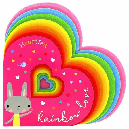 MAKE BELIEVE IDEAS UK - Heartfelt Rainbow Love