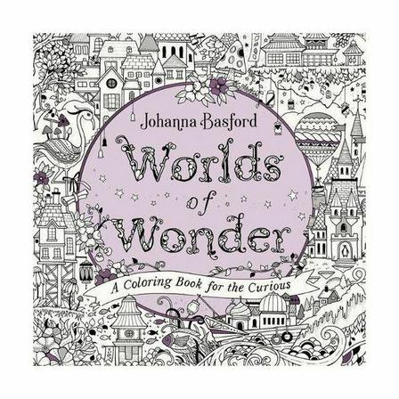 PENGUIN USA - Worlds Of Wonder- A Coloring Book for The Curious