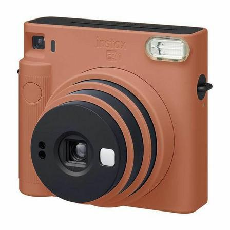 FUJIFILM - Fujifilm Instax SQ1 Instant Camera Orange