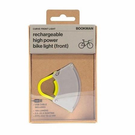 BOOKMAN - Bookman Curve Front Light Gray/Acid Yellow