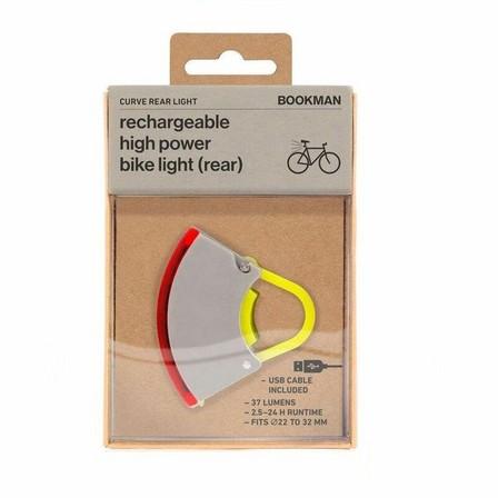 BOOKMAN - Bookman Curve Rear Light Gray/Acid Yellow