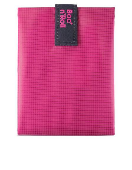 ROLL EAT - Roll'Eat Boc'n'roll Square Pink Lunch/Sandwich Kit