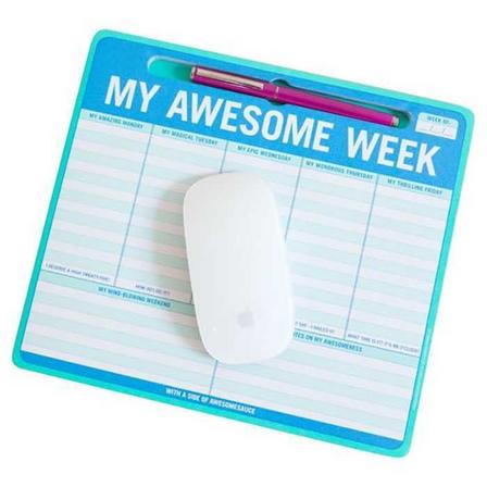 KNOCK KNOCK - Knock Knock My Awesome Week Pen To Paper Mousepad