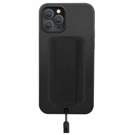UNIQ - UNIQ Hybrid Heldro Case Midnight Black for iPhone 12 Pro/12