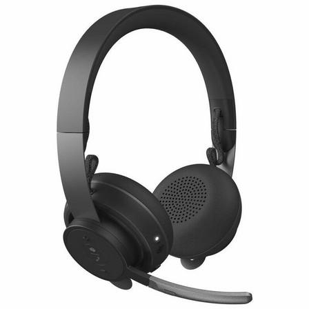 LOGITECH - Logitech Zone Wireless Headset for Microsoft Teams Graphite
