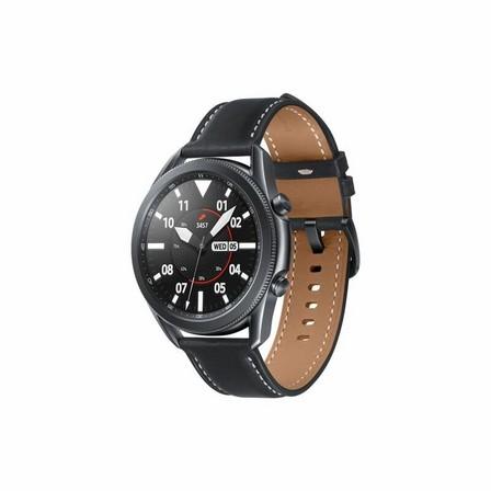 SAMSUNG - Samsung Galaxy Watch 3 LTE 45mm Mystic Black