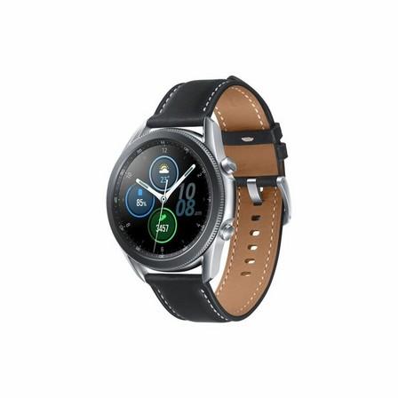 SAMSUNG - Samsung Galaxy Watch 3 LTE 45mm Mystic Silver