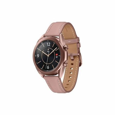 SAMSUNG - Samsung Galaxy Watch 3 LTE 41mm Mystic Bronze