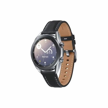 SAMSUNG - Samsung Galaxy Watch 3 LTE 41mm Mystic Silver