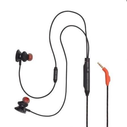 JBL - JBL Quantum 50 Wired In-Ear Gaming Headset Black