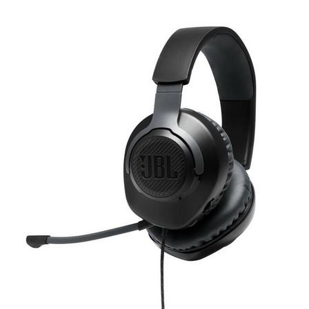 JBL - JBL Quantum 100 Wired Over-Ear Gaming Headset Black