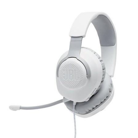 JBL - JBL Quantum 100 Wired Over-Ear Gaming Headset White