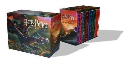 SCHOLASTIC USA - Harry Potter Complete Pb Bx Set