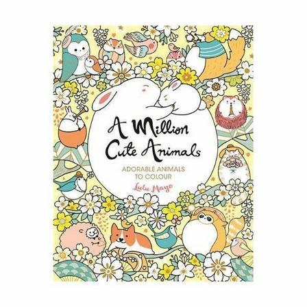 MICHAEL O'MARA - A Million Cute Animals - Adorable Animals To Colour
