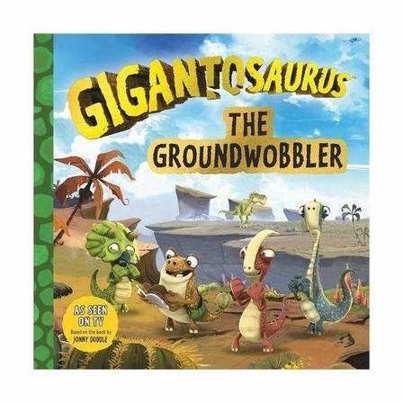 BONNIER - Gigantosaurus - The Groundwobbler