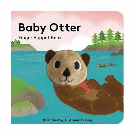 CHRONICLE BOOKS LLC USA - Baby Otter - Finger Puppet Book