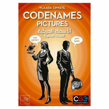 CZECH GAMES EDITION - CGE Codenames Pictures Board Game (Arabic/English)