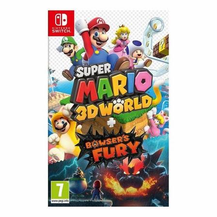 NINTENDO - Super Mario 3D World + Bowser's Fury - Nintendo Switch