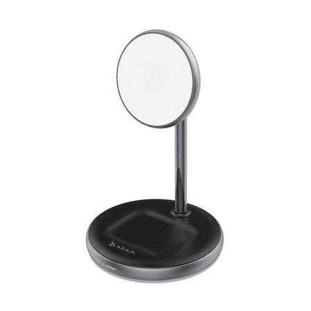 ADAM ELEMENTS - Adam Elements Omnia M2 Magnetic 2-in-1 Wireless Charger with Power Adapter